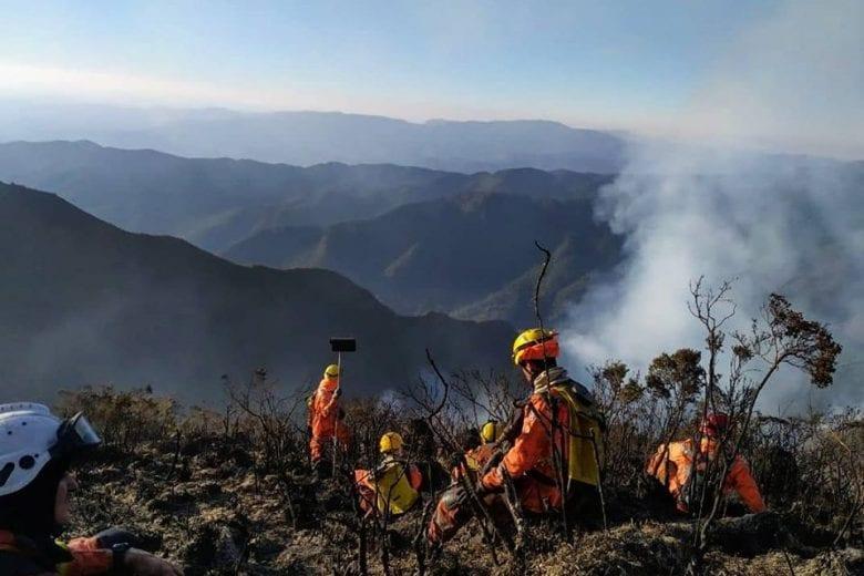 Foto: Corpo de Bombeiros Militar/MG