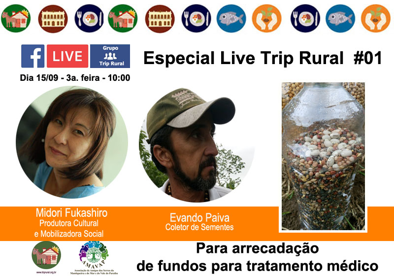 Convite Live Especial 01 Evandro Paiva
